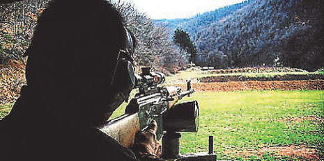 Tactical Firearms Training in Serbia, Europe